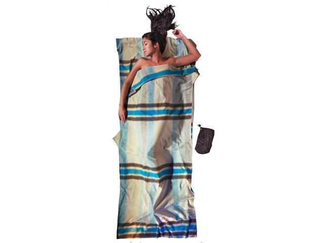 Cocoon - Drap sac de couchage en coton/flanelle - multicolore